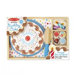Melissa & Doug Birthday Party - Wooden Play Food