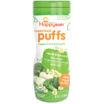 Happy Baby Puffs Apple and Broccoli - Gluten Free