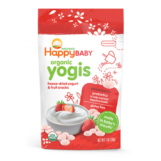 Happy Baby Yogies Strawberry