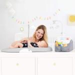 Skip Hop Nursery Style Wipe-Clean Changing Pad
