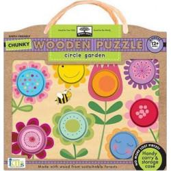 Wodden Puzzles - Circle Garden
