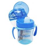 Dr. Brown's 180 ml Soft-Spout Transition Cup - Blue w/ Handles (Stage 1: 6m+)