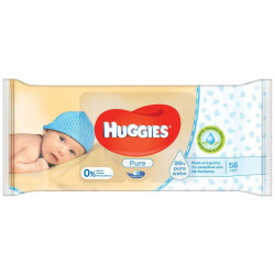 Huggies Wipes Pure 56