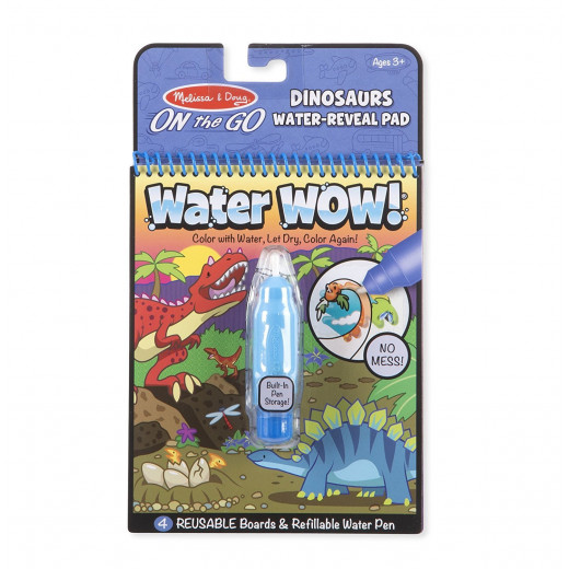 Melissa & Doug On the Go Dinosaurs Water Reveal Pad