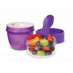 Sistema Snack Capsule to go, 515 ml, Purple