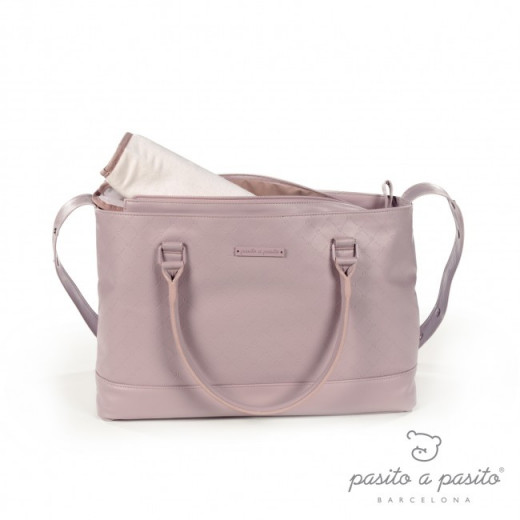 Pasito a Pasito Normandie Changing Bag, Pink