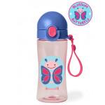 Skip Hop Zoo Lock-Top Butterfly Sports Bottles