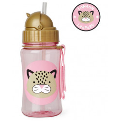 Skiphop Zoo Straw bottle Leopard
