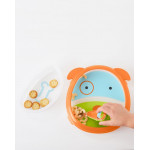 Skip Hop Zoo Smart Serve Plate & Bowl Dog