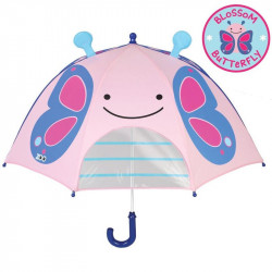 Skip Hop Zoobrella Little Kid Butterfly Umbrella