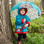 Skip Hop Zoobrella Little Kid Owl Umbrella