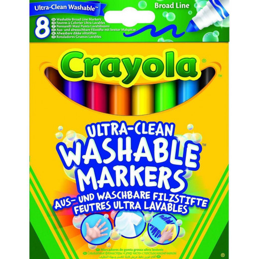 Crayola 8 Ultra-Clean Washable Markers
