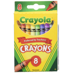 Crayola Regular Crayon Set of 8