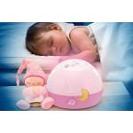Chicco Goodnight Stars Soft Musical Nightlight - Pink