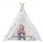 Childhood Canvas Dream Teepee Tent, White