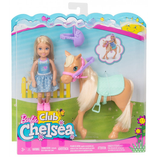 Barbie® Club Chelsea™ Doll and Pony