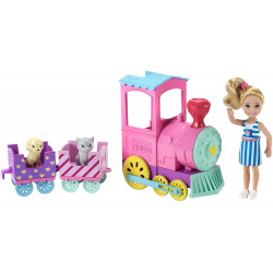 Barbie® Club Chelsea™ Doll & Choo-Choo Train Playset