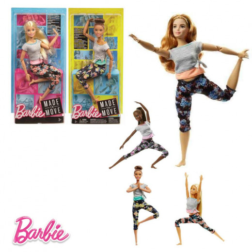 Barbie Doll Movement, Multicolour, Assortment