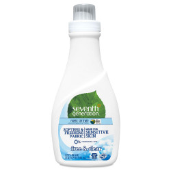 Seventh Generation Fabric Softener, Free and Clear, 32oz
