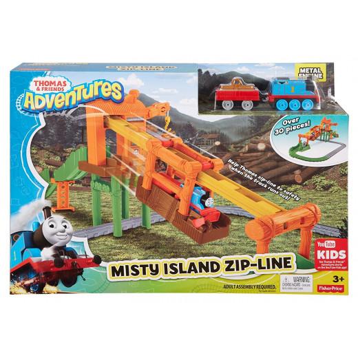 Thomas Friends Adventures Misty Island Zip-line Playset