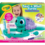 Crayola Twirl n Whirl Turtle Spiral Arts and Crafts Toy