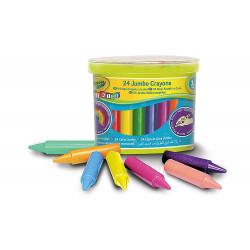 Crayola Beginnings Jumbo Crayons (24)1X12