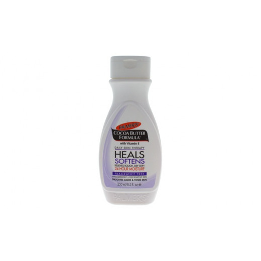 Palmer's Cocoa Butter Heals Softens Formula Lotion, Fragrance Free 250ml
