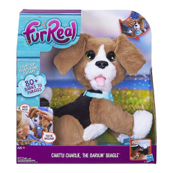 Fur Real Chatty Charlie the Barkin' Beagle Soft Toy