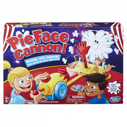 Pie Face Cannon Game Whipped Cream Family Board Game Kids