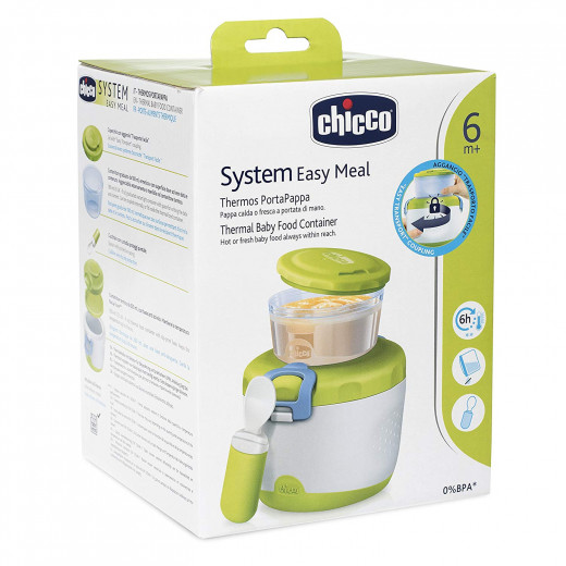 Chicco Easy Meal Thermal Baby Food Container 6m+, 3 pcs