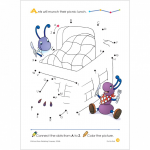 School Zone - Dot-to-Dots Deluxe Edition Activity Zone Workbook