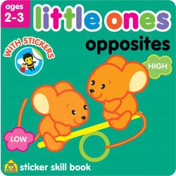 School Zone - Little Ones opposites age 2-3