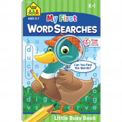 School Zone - My First Word Searches Ages 5-7