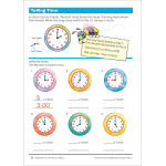 School Zone - time , money and fractions grade 1-2