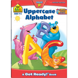 School Zone - Uppercase Alphabet grade p ages 4-6