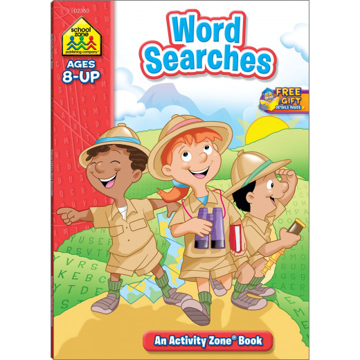 School Zone - Workbooks-Word Searches Ages 8 and Up