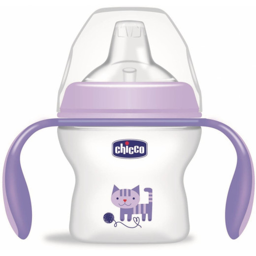 Chicco Natural Feeling Transition Bottle 4m - 6m+ 150ml, Girl