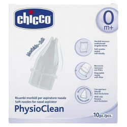 Chicco Soft Nozzles for Physioclean Nasal Aspirator