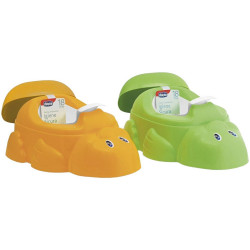 Chicco Anatomical Potty With Inner Potty - Duck Shape Green or Orange