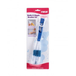 Farlin Bottle And Nipple Brush, Blue