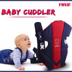 Farlin Front Hold Baby Cuddler, Blue and Red