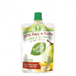 Probios Fruits without sugar -pears and bananas