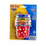Nuby 5-Piece Splish Splash Bath Time Stacking Cups