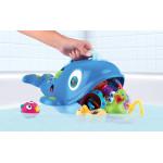 Nuby Sea Scooper Bath Toy, Whale Pail