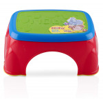 Nuby Step Stool, Red-Blue-Green