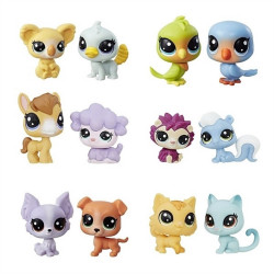 Littlest Pet Shop Mini Set 2 Animals Assortment