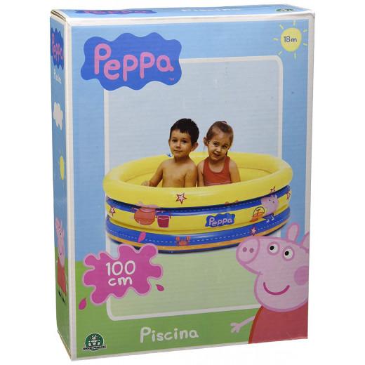 Giochi Preziosi Peppa Pig Pool 3 Tubes,100x50 cm