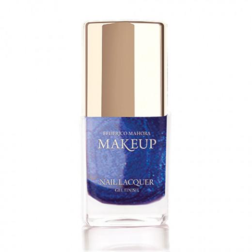 Federico Mahora - Nail Lacquer Gel Finish Neon Blue