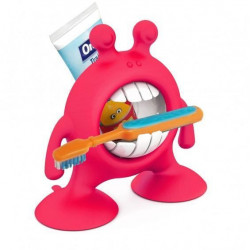 Prince Lion Heart - Eye SMILE Toothbrush & Toothpaste Holder (Pink)