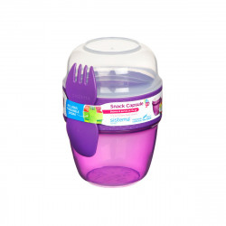 Sistema Snack Capsule to go, 515 ml, Purple